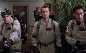 "During their first case, Egon warned the other Ghostbusters not to cross the energy beams from their ghost-capturing proton packs, saying, ""It would be bad."" While ""crossing the streams"" actually proves to be useful later on, doing so is unpredictable and dangerous."