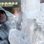 Fire and Ice Festival • Goshen, Indiana • Ice Carvers come to Goshen