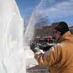 Fire and Ice Festival • Goshen, Indiana • Ice Tower